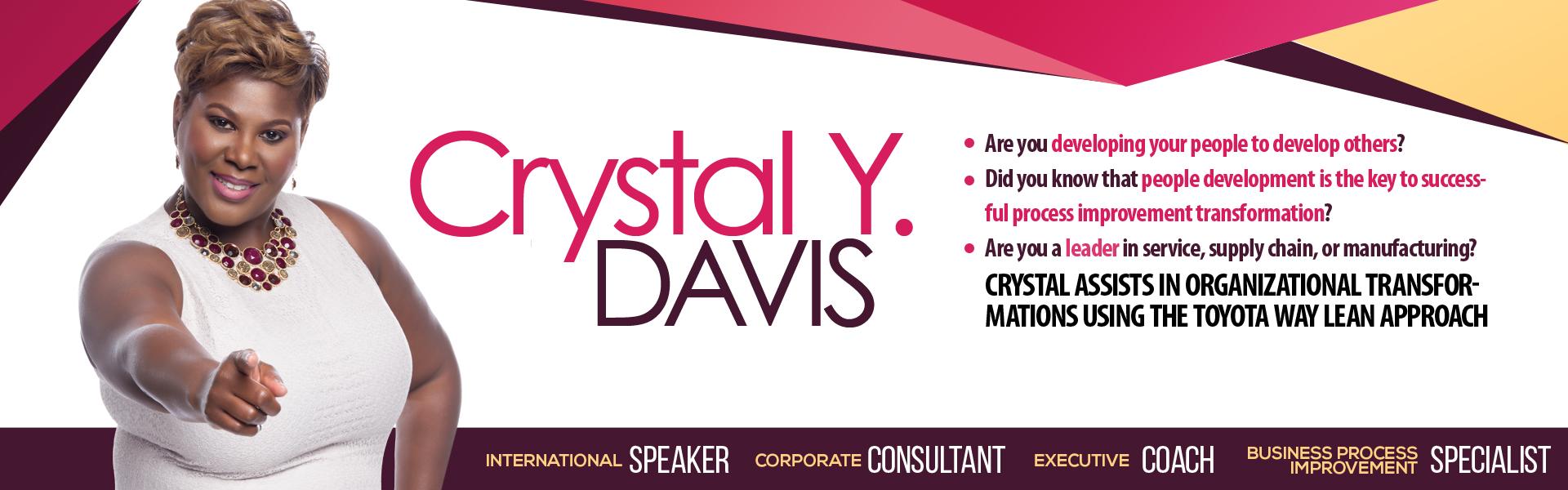 Crystal Y Davis Banner 1